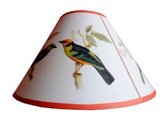 Tanager bird Lampshade