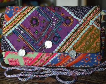 Indian Clutch Bag Vintage Banjara Patchwork Tribal Bohemian Purse Stylish Gypsy BB05