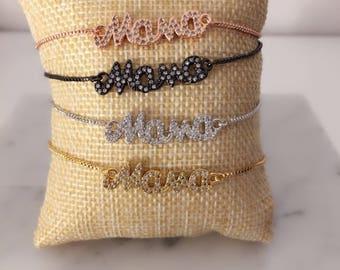 CrystalDust Mama Bracelet