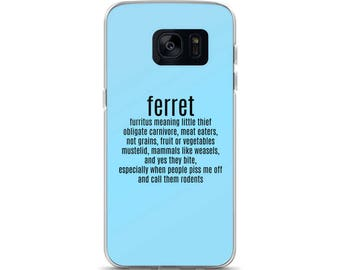 Ferret Definition Samsung Case
