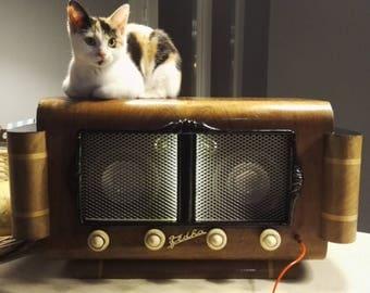 "Radio station vintage ""Re-Store"" (Bluetooth, jack, RCA)"