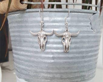 Bull earrings