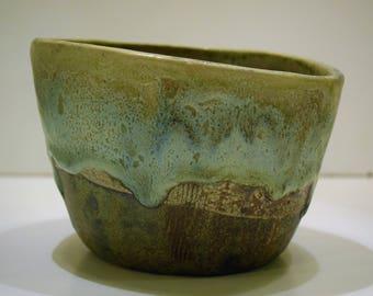 Textured ceramic piece