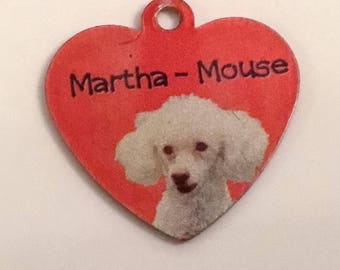 Personalised dog I.D. Tag