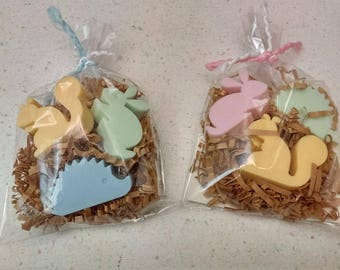 Forest Animals Baby Shower Soaps Set of 15