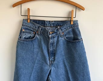 Levis Jeans 550 Women's Size 9 short High waisted mom jeans