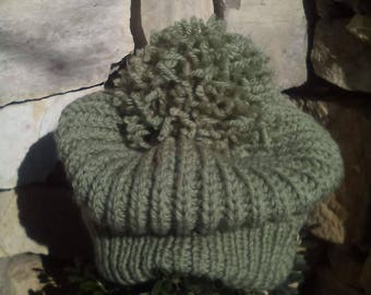 Winter hat, warm hat, winter hat, hand-made hat