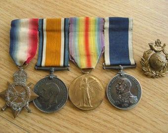 First world war medal group