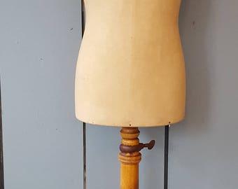 Antique French Stockman Child Mannequin