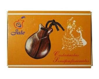 Flamenco Castanets Jale Pollopas Beginner