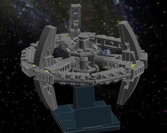 Deep Space Nine - Lego Star Trek - Instructions/Parts List - Files Only