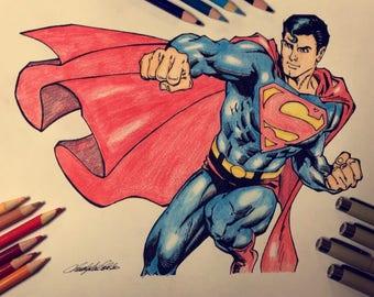 Superman Drawing (Fan Art)