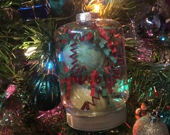 Mini Bath Bomb Ornaments