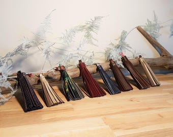 Jolly (leather tassels)