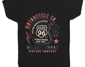 Hot Rod 21 Motorcycle Inspired Cafe Racer Motorbike Biker Gang Heavy Metal Rock Music Film Movie T Shirt 1