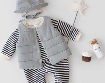 Reversible vest for toddler