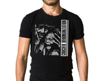 Crucifix Punk Band Dehumanization 1983 Album Cover Black T-Shirt