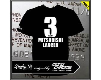 T-shirt Mitsubishi Lancer Evolution III CE9A 4G63