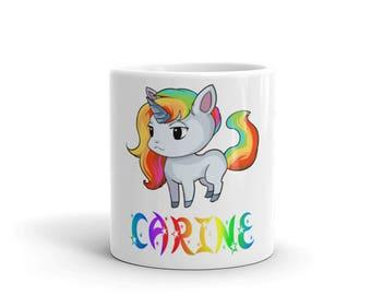 Carine Unicorn Mug