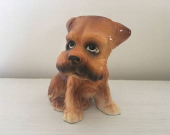 Vintage Terrier Figurine