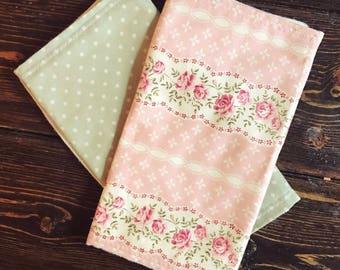 Burp cloth | baby accessories | burp rags | newborn gift | baby shower gift | baby girl |