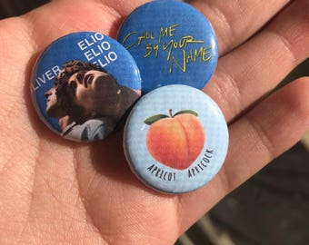 Call Me By Your Name 3 Pin Bundle