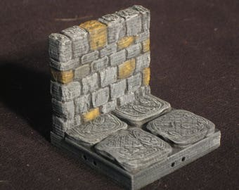 Dungeon Stone 2x2 Wall Tiles (OpenForge 2.0)