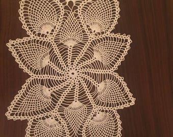 handmade lace tray cloth