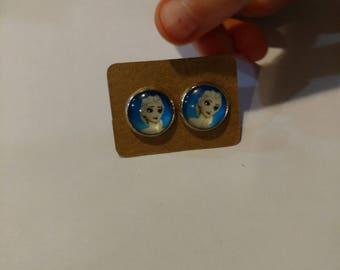 Frozen Elsa earrings