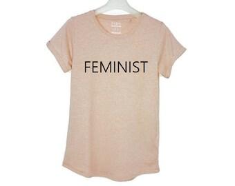 Feminist T-Shirt, Women's Shirt, Feminist Shirt, T-Shirt for Women, Feminist Tee, Feminist Top, Womens T-Shirt
