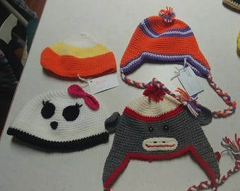 Crochet Hats and scarves for Infant,Toddler, Child and Adult