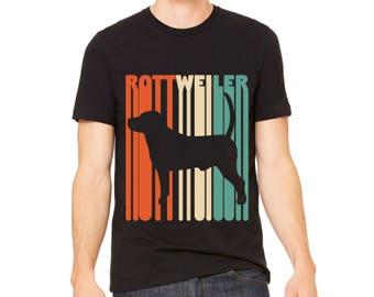MEN'S SHIRT Vintage Rottweiler T-Shirt | Rottweiler Gift | Rottweiler Owner Gift | Rottweiler Dog Tee | Rottweiler Shirt | Rottweiler Lover