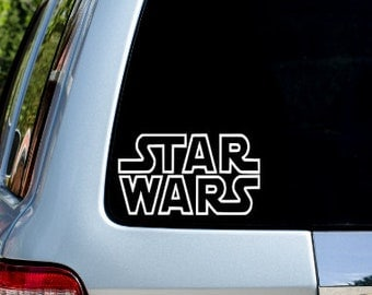 Star Wars Decal - Car Decal - Phone Decal -Star Wars - yeti decal