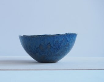 Small ceramic bowl, blue bowl, handmade ceramic bowl, pottery bowl, decorative bowl, for trinkets bowl, ceramic dish, handmade pottery, gift