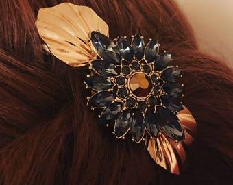 Vintage style barette hair clip