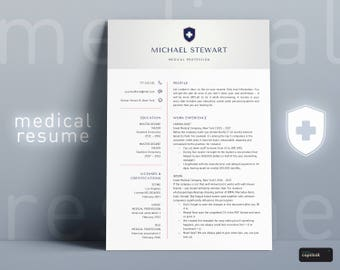 Doctor Resume Template For Word Doctor CV Medical Resume Nurse Medical CV Template Nurse Cv Template RN Resume Cna Resume Nursing Resume