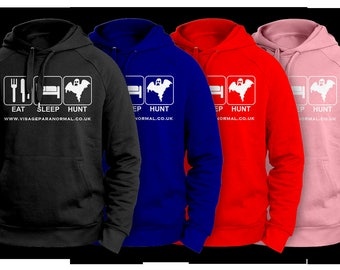 Eat Sleep Hunt - Ghost Hunting Hoodie
