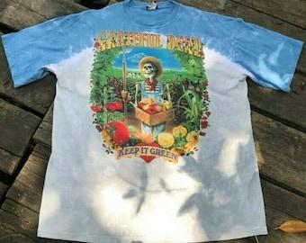 GRATEFUL DEAD Vintage 90s Tie Dye T shirt. XXL size