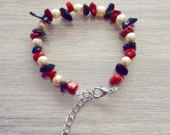 Handmade adjustable bracelet