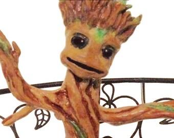 Plant Groot Sculpture