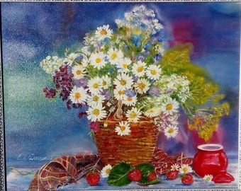 """Oil painting """"Summer"""""""