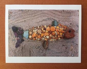 Rainbow Fish notecard - Vineyard Haven, MA