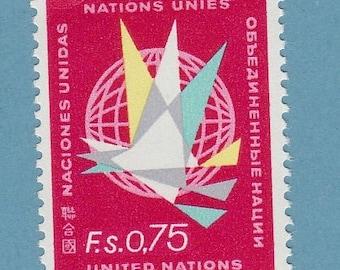 United Nations Geneva 1968 Postage Stamp Regular Issue