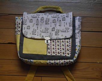 Kindergarten school bag or not...