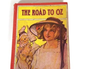 L. Frank Baum-The Road To Oz-J.R. Neill-Hardcover-Reilly & Lee Vintage