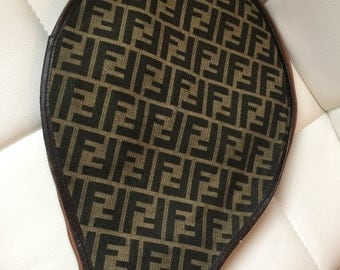 Vintage Fendi racket cover rare Fendi