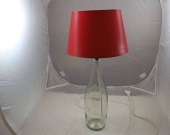 Table Lamp, upcycling of champagne bottle, decoration, DYS