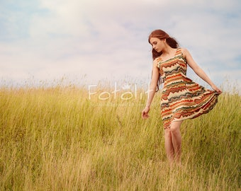 Summer digital background, summer backdrop, field background, grass backdrop, meadow background, spring, nature photography, sky, day