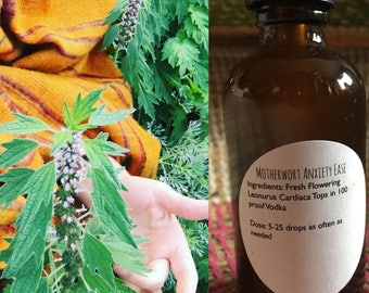 Motherwort Anxiety Ease 2 Ounce
