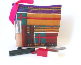 Silk Make Up Bag, Cosmetics Purse